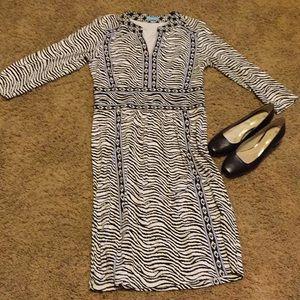 J McLaughlin Catalina cloth pattern dress